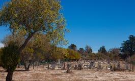 Kyrkogård för Robben öspetälsk Arkivbilder