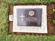 Kyrkogård för världskrig, Kohima, Nagaland, North-East Indien royaltyfria foton