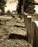 kyrkogård gettysburg Royaltyfri Foto
