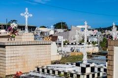 Kyrkogård i Cayenne royaltyfri foto