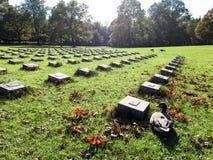 Kyrkogård i Munich, Tyskland arkivfoton