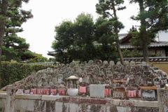 Kyrkogård - Kyoto - Japan Royaltyfria Bilder