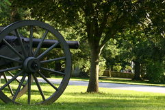 kyrkogård nationella gettysburg royaltyfria bilder