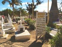 Kyrkogård på San Jose del Cabo, Mexico Royaltyfri Foto