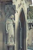 Kyrkogård Pere Lachaise Fotografering för Bildbyråer