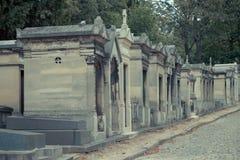 Kyrkogård Pere Lachaise Royaltyfri Fotografi