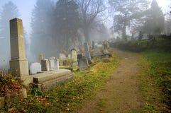 kyrkogård transylvania Arkivbild