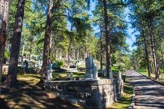 Kyrkogård var lösa Bill Hickock begravdes Royaltyfri Bild