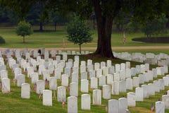 kyrkogårdchattanooga national Arkivbild