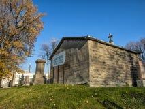 Kyrkogården Sault-au-minns Arkivbilder