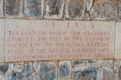 kyrkogården taukkyan myanmar kriger yangon Arkivfoto