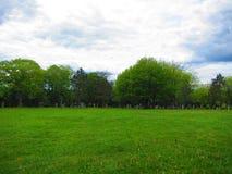 Kyrkogårdgalgekulle Lunenburg Nova Scotia Royaltyfria Foton