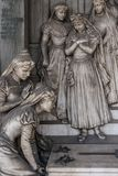 Kyrkogårdgravvalv Royaltyfria Bilder