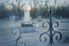 kyrkogårdkant Royaltyfri Bild