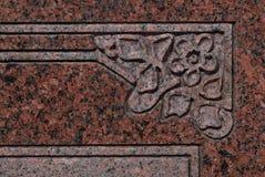 Kyrkogårdkonst 4392 arkivbild