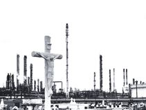 kyrkogårdkor Fotografering för Bildbyråer