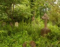 Kyrkogårdkors Royaltyfria Foton