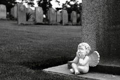 kyrkogårdkranjien kriger Arkivfoton