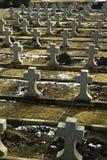 kyrkogårdminnesmärken kriger arkivfoton