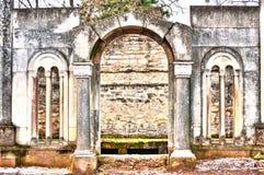 kyrkogårdmonument Royaltyfria Bilder