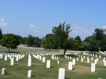 kyrkogårdnashville national Arkivbild