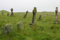 kyrkogårdskott arkivfoto