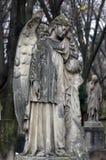 Kyrkogårdskulptur Arkivfoton