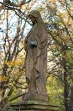 Kyrkogårdskulptur Arkivfoto