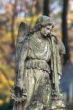Kyrkogårdskulptur Royaltyfria Foton