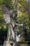 Kyrkogårdskulptur Arkivbild
