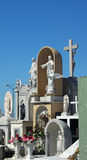 kyrkogårdskulpturer Royaltyfri Bild