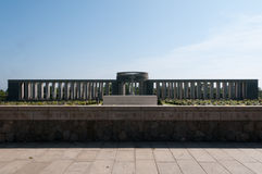 kyrkogården taukkyan myanmar kriger yangon Arkivbilder