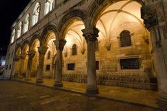 Kyrkoherdets slott i Dubrovnik, Kroatien Royaltyfria Bilder