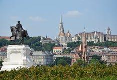 Kyrkor av Budapest royaltyfri fotografi