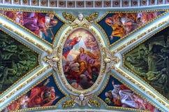 Kyrkor av Malta - Rabat Arkivfoto