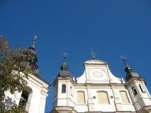 Kyrkor av Vilnius Arkivfoto