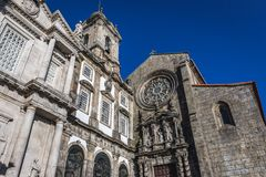 Kyrkor i Porto arkivbilder