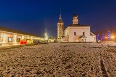 kyrkor och kloster av Ryssland Fotografering för Bildbyråer