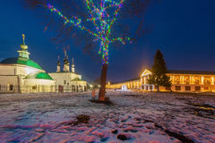 kyrkor och kloster av Ryssland Arkivfoton