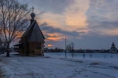 kyrkor och kloster av Ryssland Royaltyfri Foto