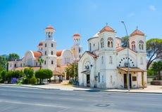 Kyrkorna av Larnaka Arkivfoton