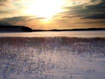 Kyrksjön_02 em Forsa - Hudiksvall foto de stock royalty free