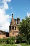 kyrktaga den krutitsky townen Arkivfoto