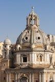 kyrktaga di loreto maria santa italy rome kupol Arkivfoto