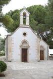 Kyrktaga i Hanya, ön av Kreta, Grekland Arkivfoto