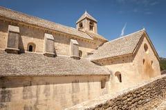 Kyrktaga på Abbaye de Senanque, Provence, Frankrike Fotografering för Bildbyråer