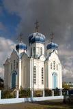 Kyrktaga vår dam av Kazan Panino Ryssland Fotografering för Bildbyråer