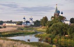 kyrktar det mediaeval ortodoxa russia symbolet Fotografering för Bildbyråer