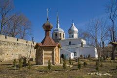 kyrktar fästningporkhov Fotografering för Bildbyråer
