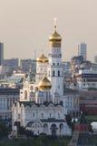 kyrktar kremlin moscow Royaltyfri Foto